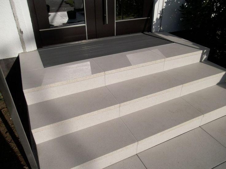 die besten 25 au entreppe fliesen ideen auf pinterest pflastersteine terasse terrasse granit. Black Bedroom Furniture Sets. Home Design Ideas