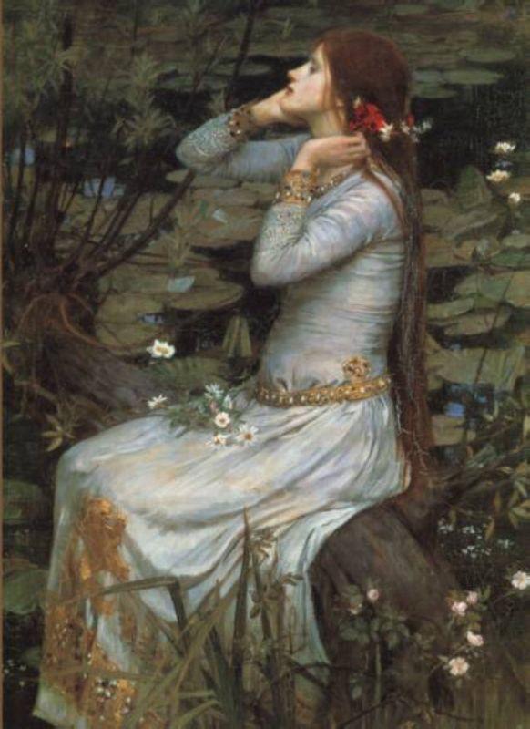 Ophelia by John Waterhouse  Hamlet - Shakespeare