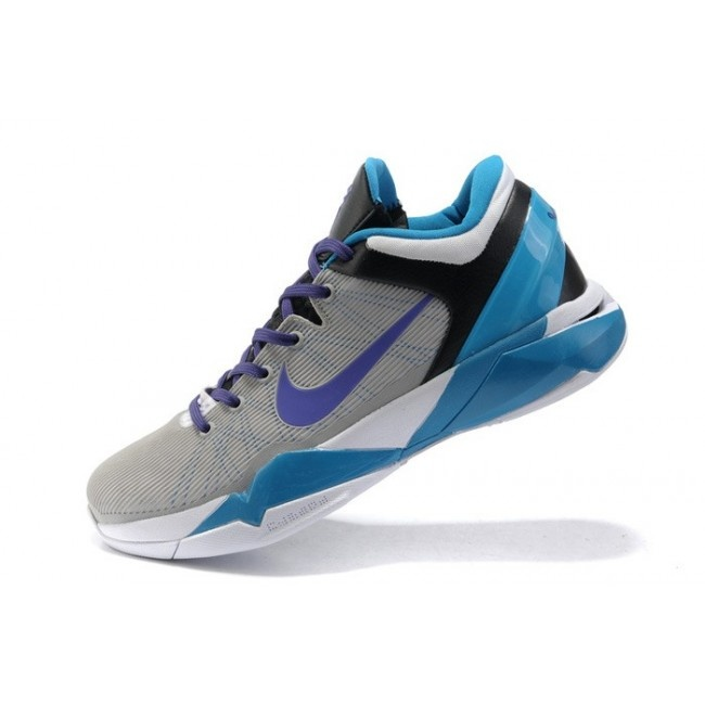 Wholesale Nike Zoom Kobe VII Mens Basketball Shoes - Blue/Grey Now only:  $68.90