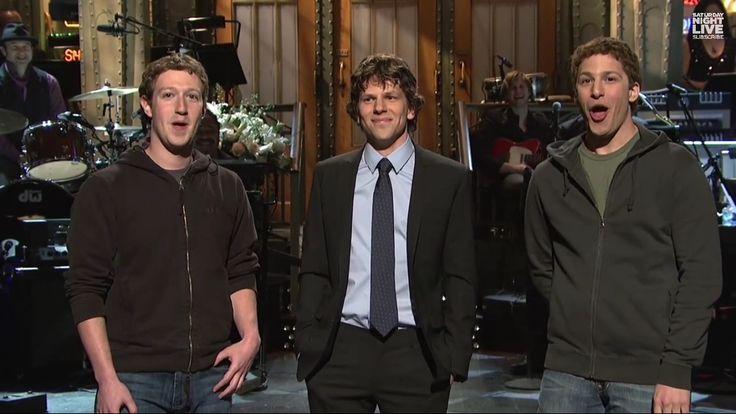 Mark Zuckerberg, Jessie , Andy Samberg