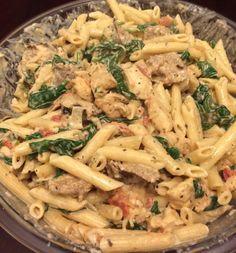 Buca di Beppo Copycat Recipes: Chicken & Sausage Ziti