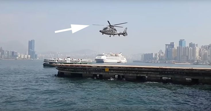 When a Camera's Frame Rate is Synced to a Helicopter's Rotor...