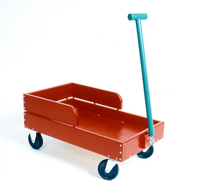 Little Red Wagon is my super-sturdy version of a classic. Plenty of time to build this woodworking plan for the holidays!! www.playfulplans.com/products