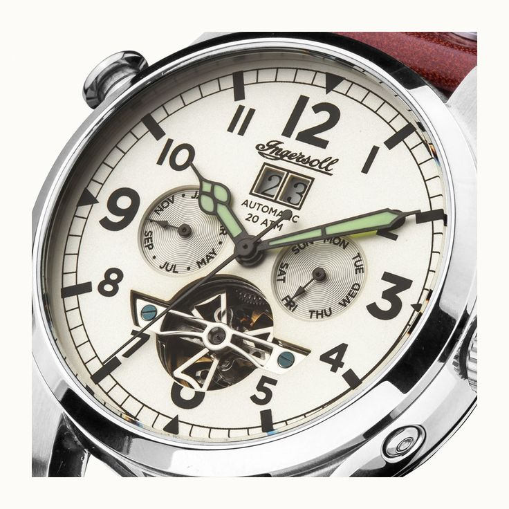 MENS INGERSOLL WATCH - THE ARMSTRONG AUTOMATIC I02101
