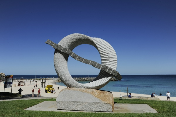 Sculptures By The Sea - Cottesloe Beach