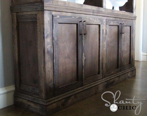 Restoration Hardware Inspired Sideboard  Rustic SideboardDining Room. Best 25  Sideboard buffet ideas on Pinterest   Dining room
