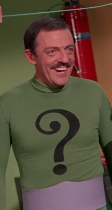 Batman, Batman's Anniversary    Episode aired 8 February 1967 Season 2 | Episode 45, John Astin  The Riddler