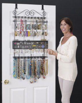 24 best Longstem OverdoorWall Jewelry Organizer images on Pinterest