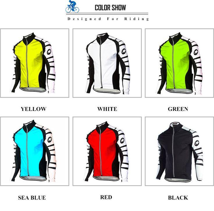 Cycling Jersey -  Long Sleeve Autumn Spring Clothing Bicicleta MTB Maillot Ropa Ciclismo Hombre Abbigliamento Ciclismo