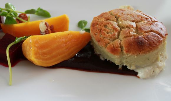 Bradley Ogden's Maytag Blue Cheese Souffle