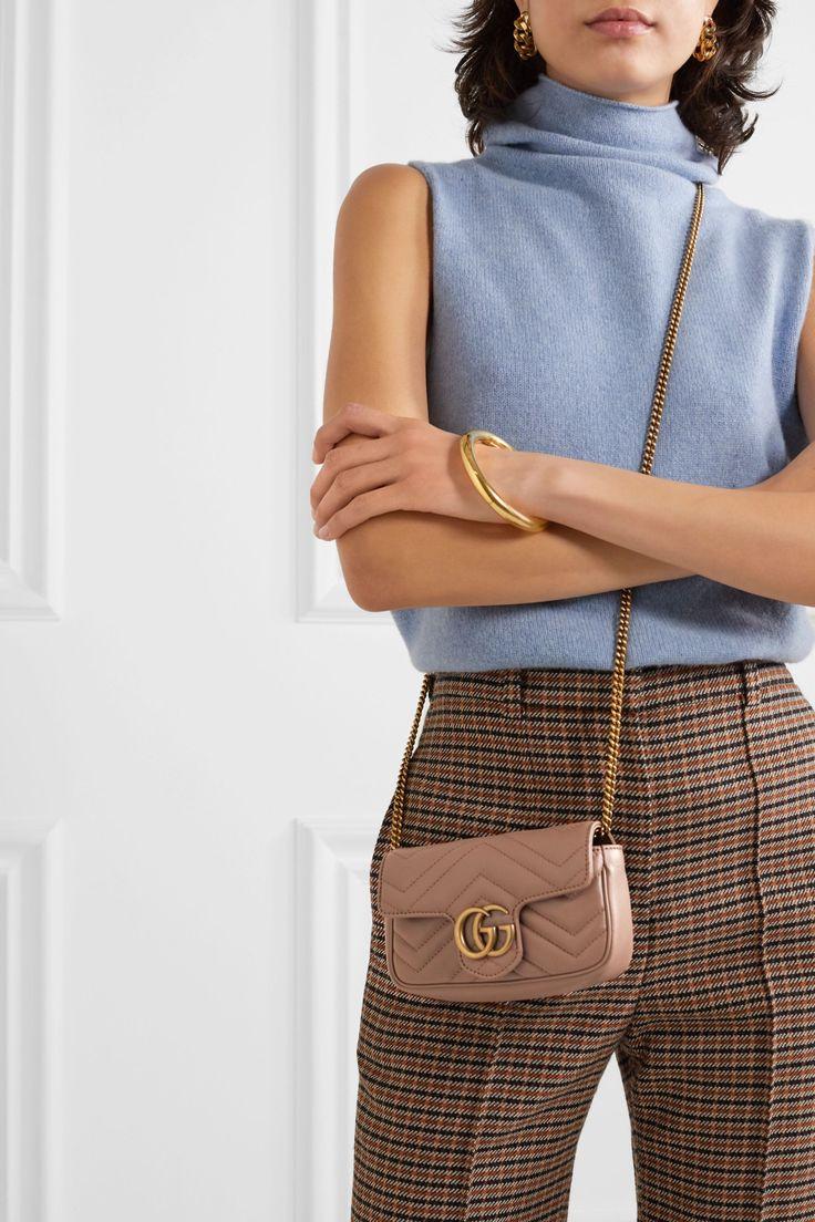 GG Marmont 2.0 Matelassé Leather Shoulder Bag, Main, color
