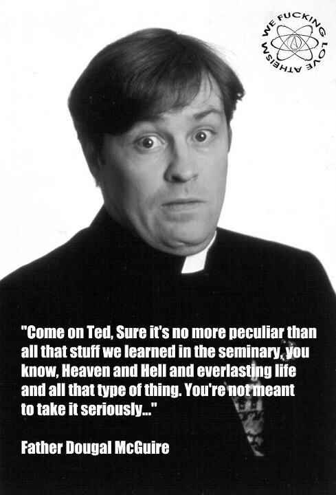 Come on Ted...You're not meant to take it seriously...