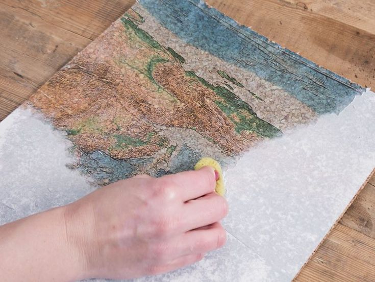 Ber ideen zu foto transfer potch auf pinterest - Weltkarte basteln ...