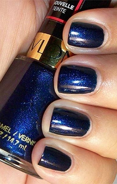 Revlon Nail Polish in Midnight Affair: Revlon has wonderful range of nail polishes. This one particularly has lots of glitters and a shimmer finish.
