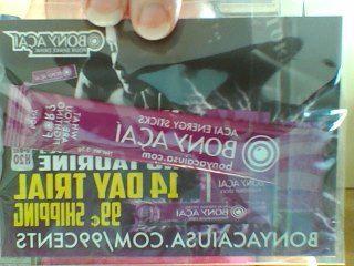 2 free samples of Bony Acai drink mix