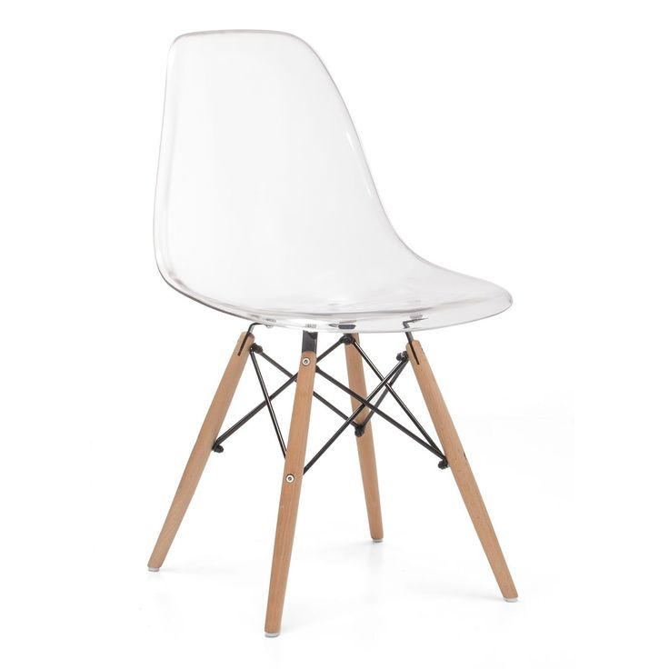 Chaise WOODEN -Clear Edition- (Chaises Iconiques Design) DSW