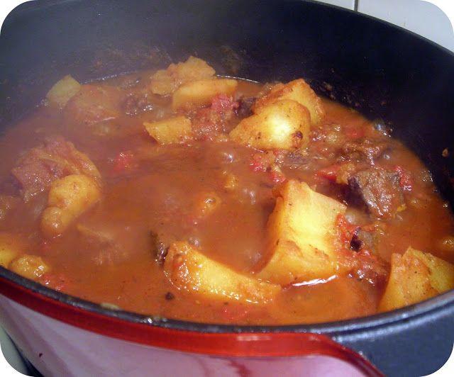 Kitchenboy in Taiwan: Good old tamatie bredie. (Tomato stew)