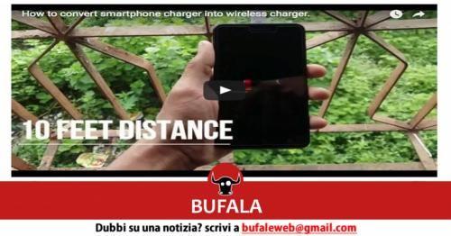 Attualità: #BUFALA #Costruisci anche tu un caricabatterie wireless per il tuo cellulare  bufale.... (link: http://ift.tt/2eQIko6 )