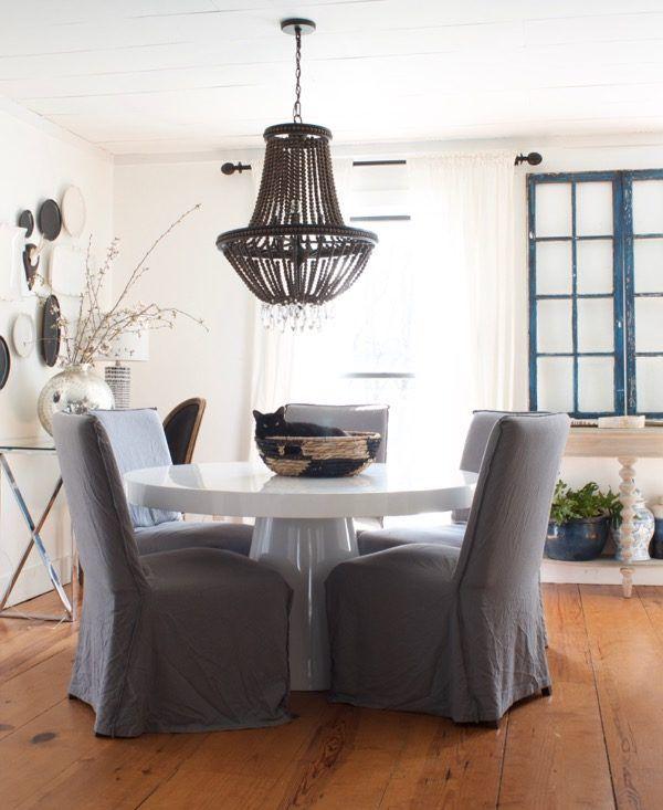 a cozy minimalist spring home the nester s house dining room rh pinterest com
