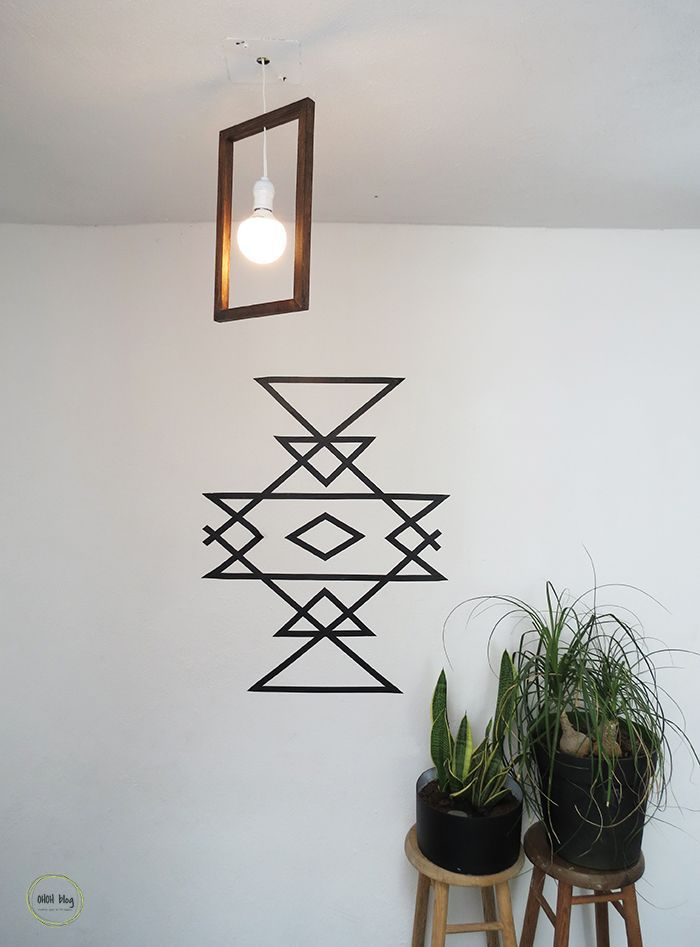 Best 25+ Tape wall art ideas on Pinterest | Tape art ...
