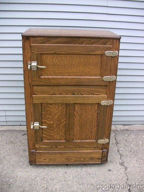 Antique Ice Box Manufacturers Woodworking Projects Amp Plans
