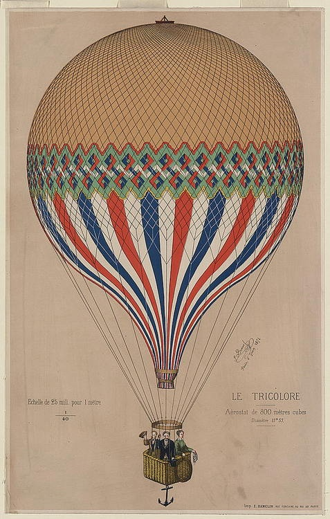 vintage illustration | hot air balloon & anchor.. Yesssss <3
