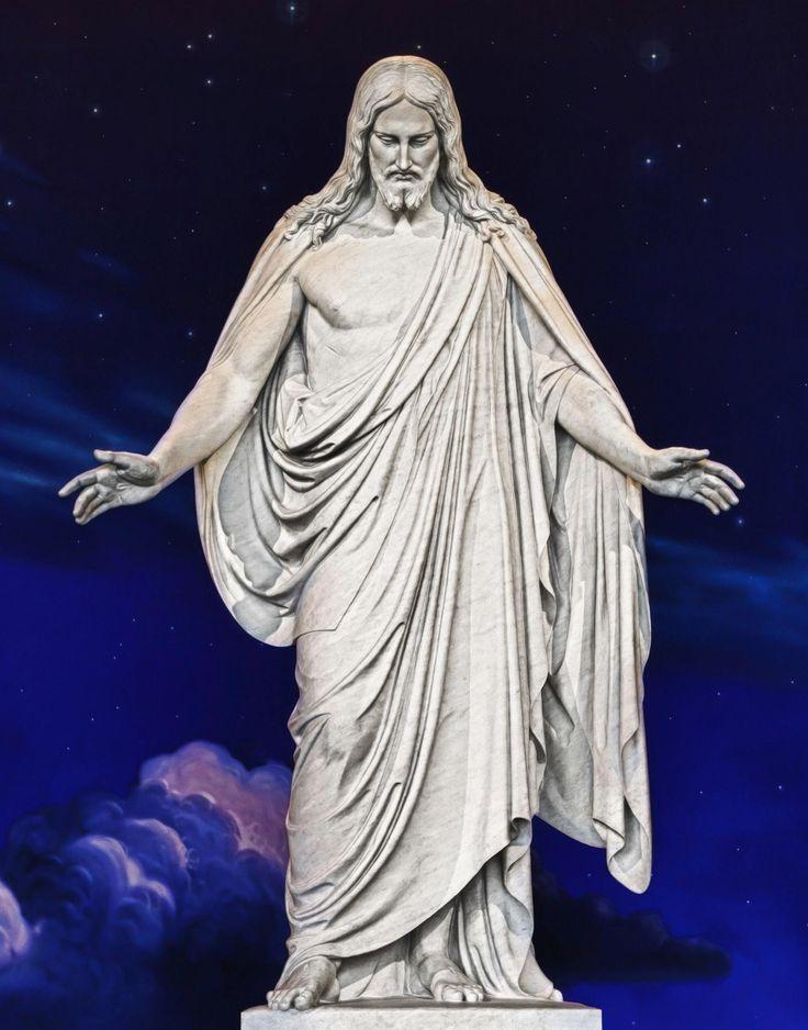 Christus at Temple Square in Salt Lake City, Utah. #Mormons #LDS