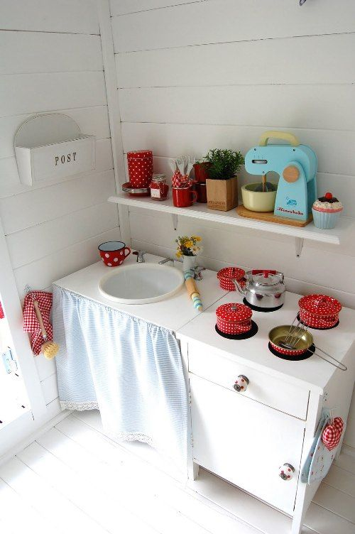 kitchen in a play house