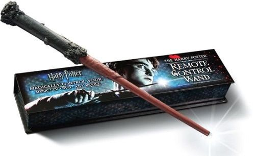 HARRY POTTER WAND REMOTE CONTROL MUSIC TV DVD MAGIC FANTASY MOVIE COLLECTIBLE