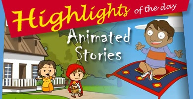 Animated short stories with morals for kids.