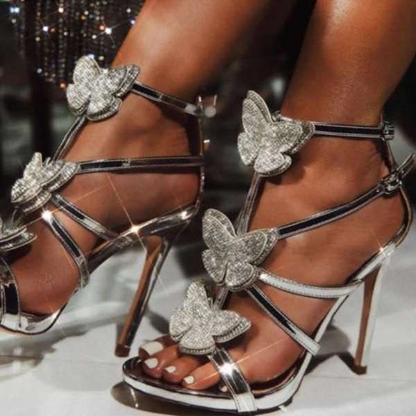 Zara Flat Black Sparkle Glitter Sandals Gladiator Ankle Straps Eur 37 Us 6 5 Sandales Style Zara