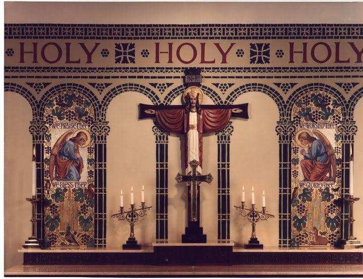 Altar - Trinity Evangelical Lutheran Church - Paolo Alto, CA