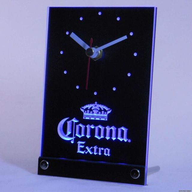 Promotion price tnc0092 Corona Extra Beer 3D LED Table Desk Clock just only $14.49 with free shipping worldwide  #clocks Plese click on picture to see our special price for you