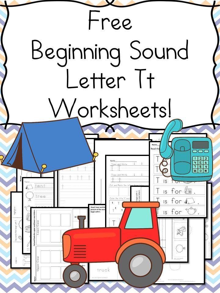 18 Free Beginning Sound Letter T Worksheets Easy Download