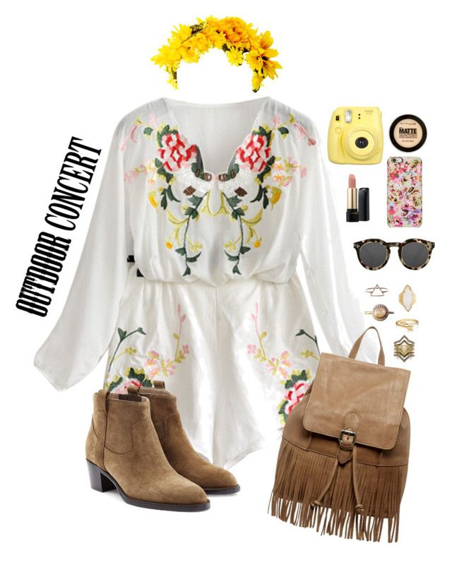"""""""Outdoor Summer Concert"""" by blondeshoopaholic on Polyvore"""