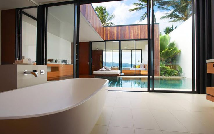 10 luxury outdoor bathrooms you need to experience  One&Only Hayman Island, Australia  via Yahoo New Zealand Travel