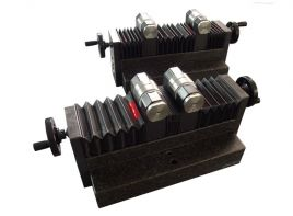 Black granite precision rollers for  cylinder alignment and levelling