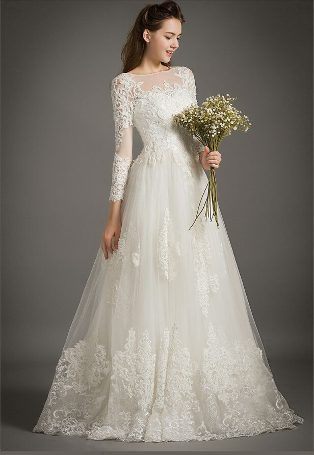 New wedding dresses for 2016 married brides