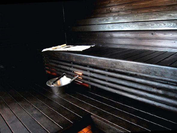 .tähän tyyliin sauna