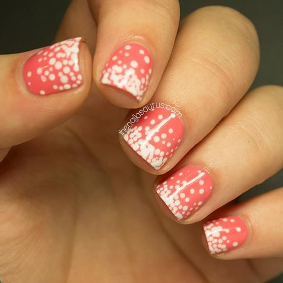 1000+ Ideas About Polka Dot Pedicure On Pinterest