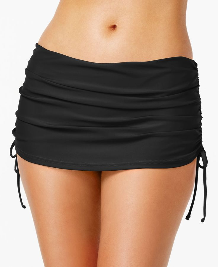 Island Escape Ruched Swim Skirt