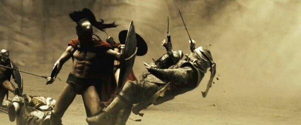El escudo era pieza fundamental para todo soldado espartano.