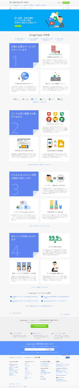 6bitaMemo: googleのフラットデザイン