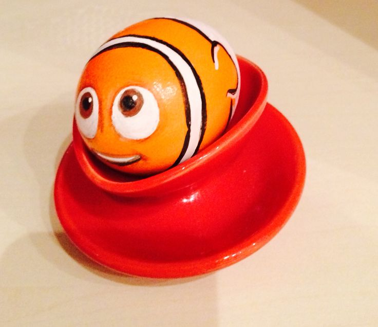 #Nemo #easter #egg, handpainted! #Diy