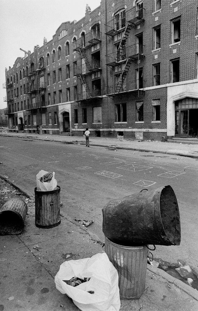 Street Scenes of Brownsville, Brooklyn in 1972
