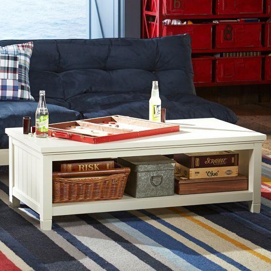 #PBteen #table #Beadboard #Coffee #Table Beadboard ...