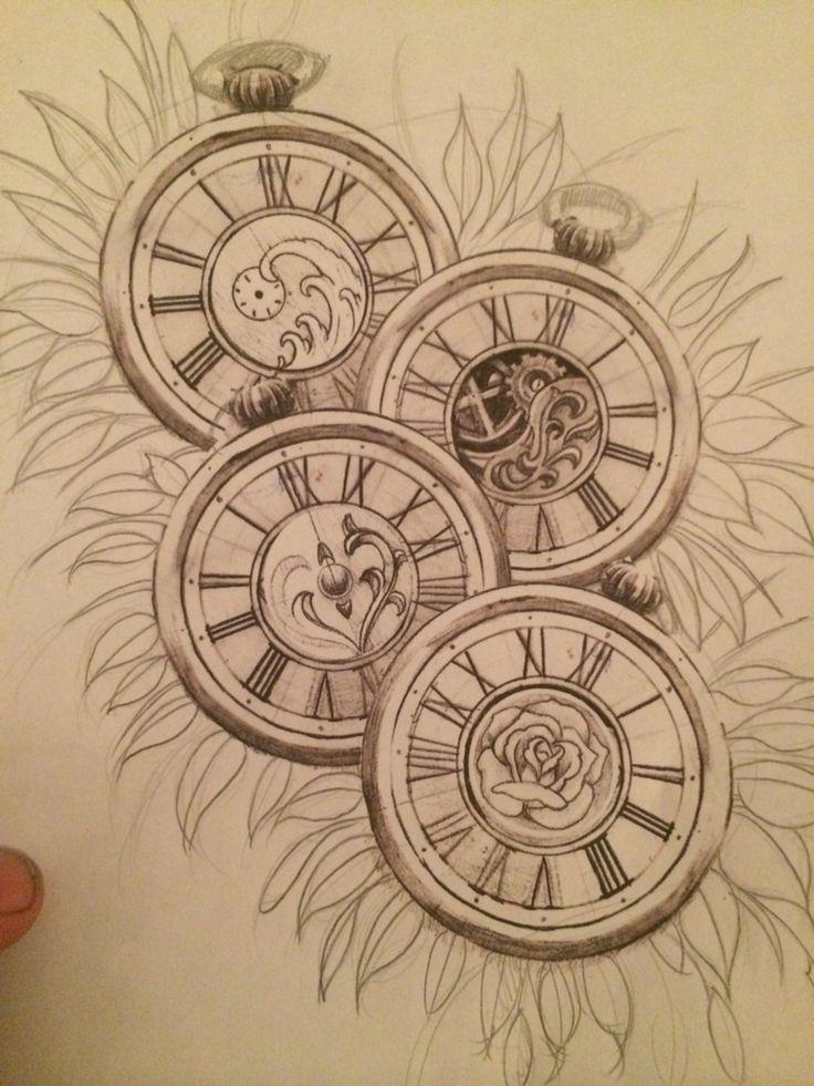 Taschenuhr bleistiftzeichnung  91 besten watches Bilder auf Pinterest | Beobachten, Taschenuhren ...