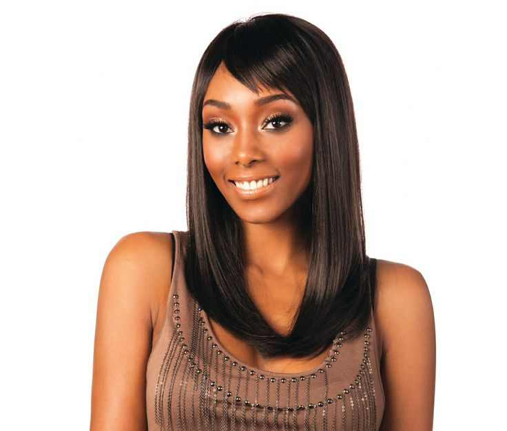 Here is our stunning Nominee 06, a gorgeous shoulder length style that again has the custom fit cap for comfort and style. The texture is soft, shiny and silky and of course as it is a Nominee Wig u can wet it with water to change the style or give it a very sexy wet look! Go for it.
