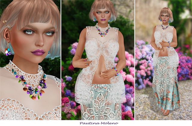 Spiderweb Second Life: AviGlam + Genesis Lab + barberyumyum + LIVIA + Sho...