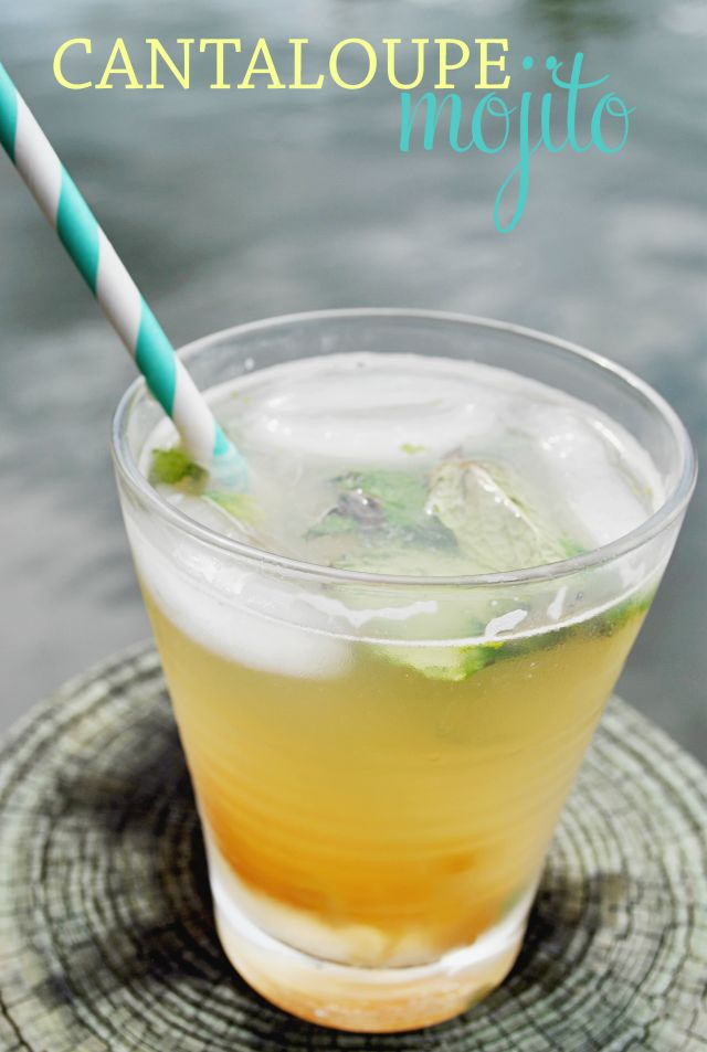 Pair cantaloupe with mint to create a mojito that is both refreshing and simple to make. Try this cantaloupe mojito at your next pool party or home soiree!